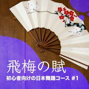 日本舞踊 オンラインコース 初心者 体験